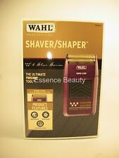 WAHL 5 STAR SHAVER Shaper Bump-Free Shaving Super Close Rechargable 120VAC .