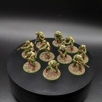 Well painted 28mm Bolt Action US Airborne ×10 ww2