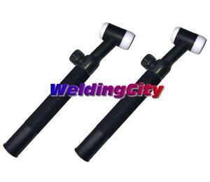 WeldingCity® 2-pk TIG Welding Torch Body WP-17V Valve-Head Air-Cool 150A | USA