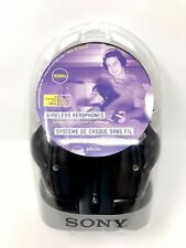 Sony MDR-RF960RK - Wireless 150ft Headphone Ideal for TV or Hi-Fi Listen NEW!!