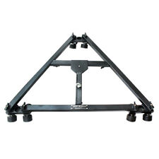 SHOOTVILLA Lightweight Universal Video Folding Dolly compact for Tripod Track