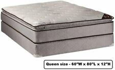 Dream Sleep Spinal Plush Queen PillowTop (Eurotop) Mattress and Box Spring Set