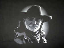 Vintage 90s Willie Nelson Tour Concert (Lg) T-Shirt Foxwoods Casino