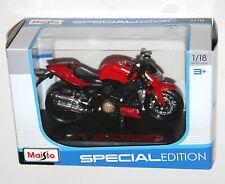 Maisto - DUCATI MOD STREETFIGHTER S (2010) - Motorbike Model Scale 1:18