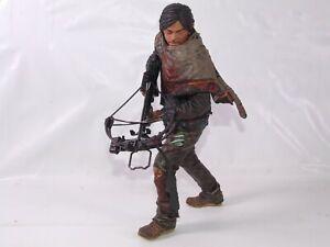 "The Walking Dead Daryl Dixon Crossbow 10"" 25cm Deluxe Action Figure McFarlane"