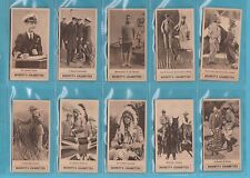 NOVELTY  -  HIGNETT  -  SET  OF  25  PRINCE  OF  WALES  TOUR  CARDS  -  1924