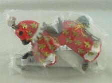 PAPO #39257 Red Prince Philip Knights Horse Figure Phillip *SEALED*