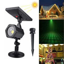 Waterproof Outdoor Christmas Lights Laser Solar Power Star Light Projector House