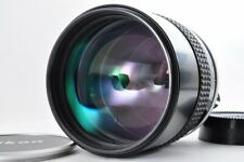 Nikon AI 135mm f2 Ai Bright Telephoto MF w/ Caps EXC+++++ From Japan F/S #1905