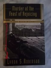 Murder at the Feast of Rejoicing  by Lynda S. Robinson  SIGNED 1st Edition!