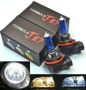 Rally H11 100W 5000K White Two Bulbs Head Light Low Beam Replacement Off Road