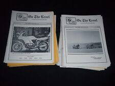 1980S-1990S BMW ON THE LEVEL LOT OF 37 ISSUES - BMW MOTORCYCLES BIKES - M 671