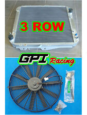 3ROW Aluminum Radiator for Toyota Hilux surf KZN130 1KZ-TE 3.0 TD 93-96 + fan