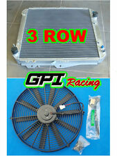 3 ROW Aluminum Radiator for Toyota Hilux surf KZN130 1KZ-TE 3.0 TD 93-96 + fan