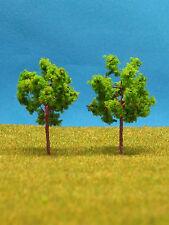 x15 Árboles 50 piezas árboles de hoja caduca 4,8 cm NUEVO