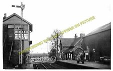 Buchlyvie Railway Station Photo. Balfron to Port of Menteith and Aberfoyle. (2)