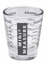 Harold Mini Measure Multi-Purpose Liquid & Dry Ingredients Measuring Shot Glass