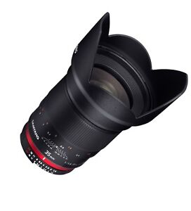 Samyang 35mm F1.4 Wide Angle Lens for Canon EF with AE Chip for Auto Metering