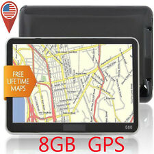 5'' TRUCK CAR Navigation GPS Navigator SAT NAV 8GB Free US Maps Updates VP