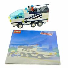 Lego Set 6430 Classic Town Night Patroller Police 1991 Light Sound Works Manual
