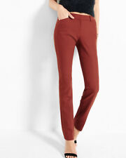 NWT EXPRESS $80 Rust ULTIMATE DOUBLE WEAVE EDITOR Barely boot pant sz 12S