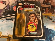 1983 Star Wars Return of the Jedi 65 Back First 12 Chewbacca Action Figure MOC