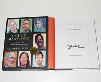 PRESIDENT GEORGE W. BUSH SIGNED 'OUT OF MANY, ONE' FIRST 1st EDITION BOOK COA 43