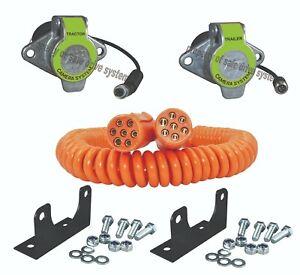 Suzi Cable 1 x Camera Kit Includes Suzi Brackets Orange 7Pin Made in UK