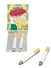 2 Fake Cigarette Cigarettes Gag Joke Prank Novelty Puff Costume Accessory Toy