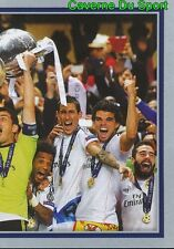 612 REAL MADRID CF 2013/14 2/2 WINNERS STICKER CHAMPIONS LEAGUE 2016 TOPPS