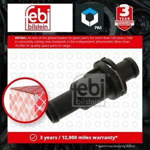 Coolant Thermostat fits AUDI A8 4E 4.2 4.2D 05 to 10 4E0121113 Febi Quality New
