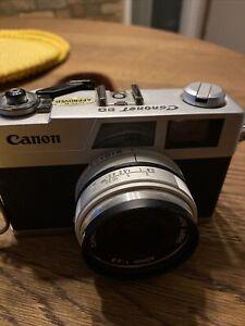 Vintage Rare Canon Canonet 28 Film Camera