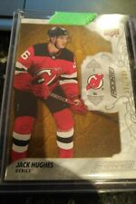 19-20 UD Engrained Jack Hughes Rookie 152/299 New Jersey Devils