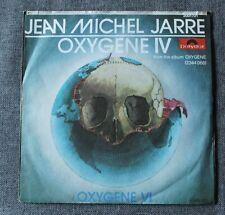 Jean Michel Jarre, oxygene IV & VI, SP - 45 tours import