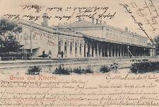 Ansichtskarte Litauen  Kibarten  -  Kibarty  -  Bahnhof   1901