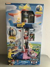 Nickelodeon Paw Patrol Lookout Tower with Rotating Periscope Lights Sounds - NEW