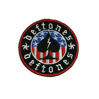 DEFTONES Embroidered Rock Band Iron On or Sew On Patch UK SELLER Patches