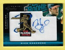 2012 Nick Hagadone Panini Signature Rated Rookie #137 Auto/Patch S/N 012/299