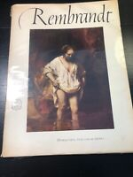 Rembrandt, An Abrams Art Book, 16 Beautiful Full Color Prints. Copyright 1953.