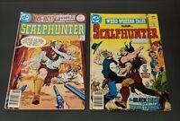 "(2) 1977 DC Comics, #40 June #41 Aug., ""Scalphunter"""