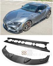 For 20 Up Toyota Supra Artisan Spirit Carbon Fiber Front Splitter Amp Side Skirts Fits Toyota Supra