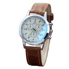 Hombres cinturón Dial analógico de cuarzo relojes hebilla negocio relojes 40mm