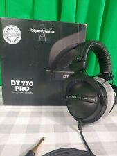 BeyerDynamic DT 770 Pro Closed Dynamic Over-Ear Headphones - 32 Ohm JA31 Grey