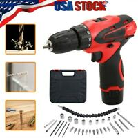 2020 Multifunctional Cordless Drill Set Electric Screwdriver Power Driver Kit