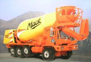 Mack Fcm Series Cement Mixer - 1:3 4 FIRST GEAR