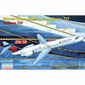 """Eastern Express 144124 Boeing 717 / McDon.Douglas MD-95 """"Delta"""" /airliner/ 1/144"""