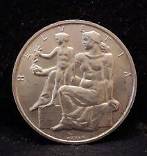 1948-B Switzerland silver 5 francs, Constitution Centennial, UNC, KM-48 (SZ17)
