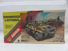 AHM SCHWIMMWAGEN & KETTENKRAD 1/72 Scale Model Kit 551 UNBUILT