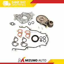 Timing Chain Kit Cover Gasket Oil Pump Fit 07-13 Buick Cadillac GMC 5.3 6.0 6.2
