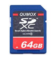 64GB SD XC Class 10 Memory Card 64G Secure Digital SDXC Ultra High Speed Camera